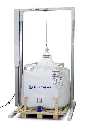 Fluid-Bag Stretching Station